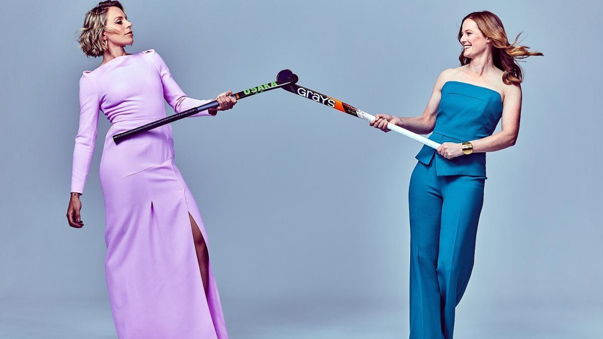Kate and Helen Richardson-Walsh