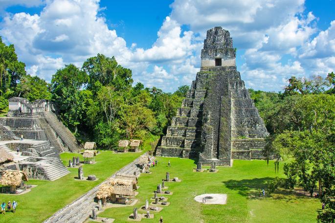 city of Tikal in Guatemala